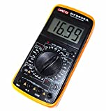 [Nikayoni Store's] デジタルマルチメーター デジタルマルチテスター 電流 電圧 抵抗 測定器 配電工事 測定機器 DMM