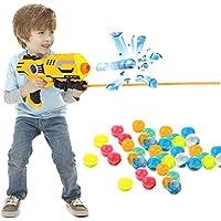 新しいおもちゃ ソフトクリスタルウォーター弾丸ボールビーズマッド 9ミリメートルキッズガンピストル 300個/ロット