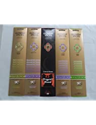 Gonesh Incense Stick Best SellerコンボVariety Set # 1 5 x 20 = 100 Sticks