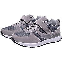 【Topics Garden】 スニーカー 運動靴 マジックテープ 高齢者 健康 柔らかい 軽い 通気性 (エコバッグ付き)