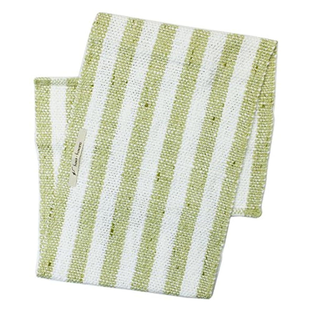 汚染された波紋捧げるアンドウ fuwafuwano ボディタオル Body Towel 萌木 5萌木