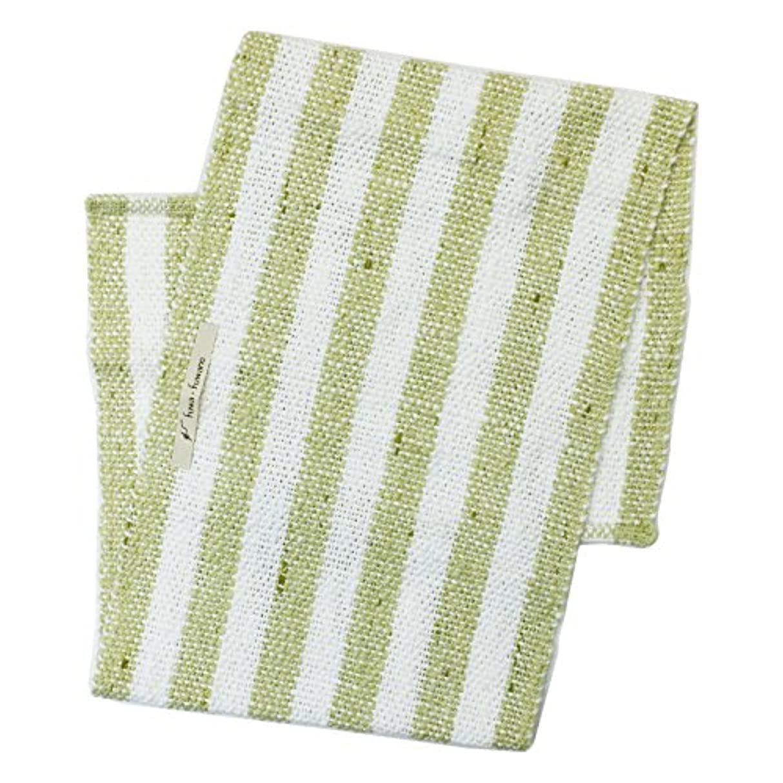 ミニチュア葉を拾う崩壊アンドウ fuwafuwano ボディタオル Body Towel 萌木 5萌木