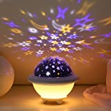 UFO Night Light for Kids, Galaxy Starry Projector, Space Universe Night Light, Galaxy Projector, Stellar Lamp for Internation