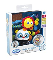 Playgro Shake 'n' Rattle Gift Pack - Blue by Playgro