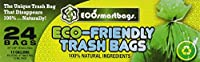 Eco-smartbags Tall Kitchen Trash Bags, 13-Gallon, 24-Count Boxes (Pack of 6) by Eco-Smartbags