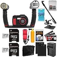 Sealife dc2000HD水中デジタルカメラwith Sea Dragon Pro Duoライト&フラッシュセット+ 264GBカード+電池&充電器+ダイビング一脚+サクションカップ+ブイキット