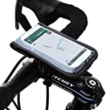 Satechi サテチ RideMate 自転車用スマートフォンホルダー (iPhone 6, 5S, 5C, 5, 4S, 4, BlackBerry Torch, HTC One, HTC EVO, HTC Inspire 4G, HTC Sensation, Droid X, Droid Incredible, Droid 2, Droid 3, Samsung EPIC, Galaxy S4, S5, Note 3用) (ブラック)