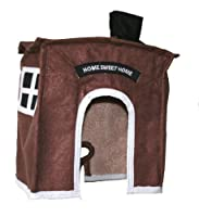 Avian Haven Hut AHHBROWNXS Extra Small, Brown