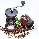 手動でコーヒーマシンを払拭して洗うことができます豆粉砕機粉砕機手動コーヒーグラインダー