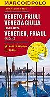 MARCO POLO Karte Italien 04. Venetien, Friaul, Gardasee 1:200 000