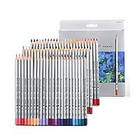 色鉛筆72色芸術家のための鉛筆鉛筆スケッチ抽象的な油ベース/アダルトぬりえ書籍/秘密の庭のぬりえの本(72)