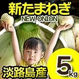 新玉ねぎ 淡路島 5kg 極早生 大小混合 兵庫県
