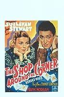 The Shop Around the Corner Belgianムービーポスター11x 17James Stewart Margaret Sullavanフランク・モーガン Unframed MOV412726