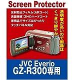 【AR反射防止+指紋防止】 ビデオカメラ JVC Everio GZ-R300専用(ARコート指紋防止機能付)