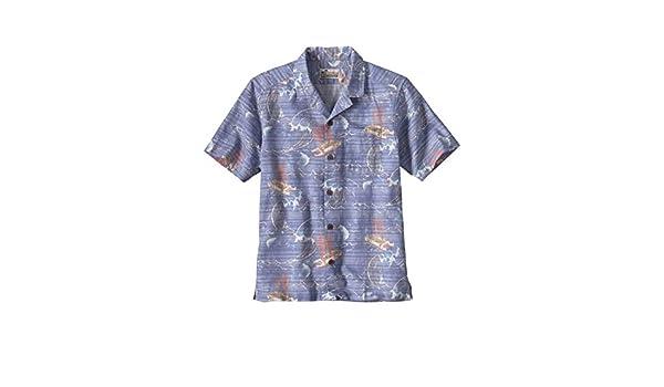 c7014601ffa3 Amazon.co.jp: patagonia(パタゴニア) メンズ・リミテッド・エディション・パタロハ・シャツ Ms Limited Edition  Pataloha Shirt 52550 VYSB M  スポーツ アウトドア