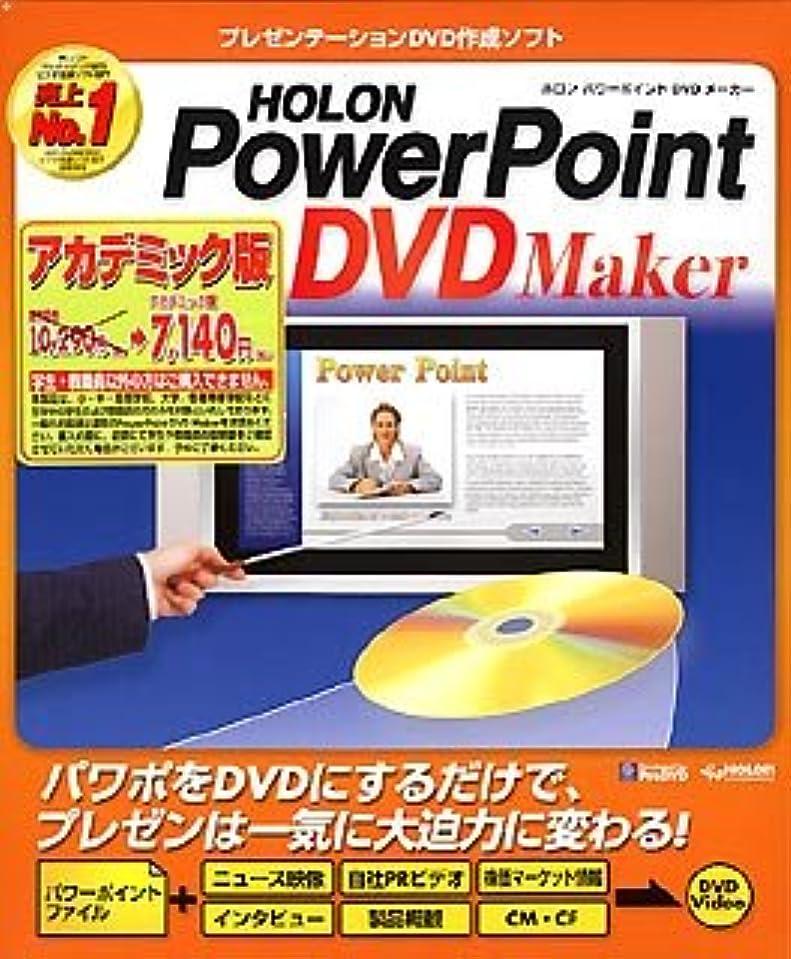 低下感嘆採用するPowerPoint DVD Maker アカデミック版