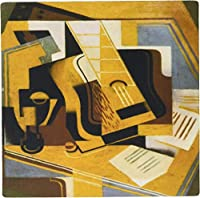 3drose LLC 8 x 8 x 0.25インチマウスパッド、フォトのCubism Painting by Juan Gris The Guitar (MP 100895 _ 1 )