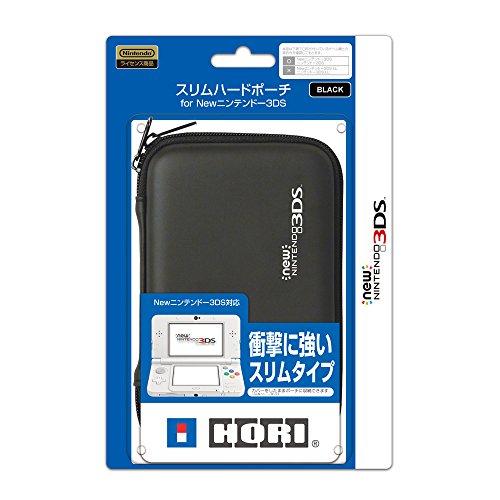 【New 3DS対応】スリムハードポーチ for NEW ニンテンドー3DS ブラック