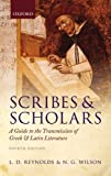 Scribes and Scholars: A Guide to the Transmission of Greek a…