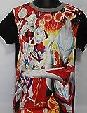 ウルトラマンヒーローズ パネルTシャツ(バンダイ) (120CM, ブラック)