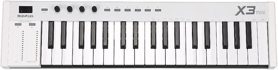 MiDiPLUS MIDIキーボードコントローラー X3 mini 37鍵 USB