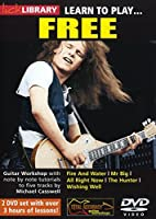 DVD Lick Library Learn to Play Free 2 DVD