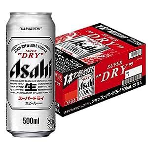 アサヒスーパードライ [ ビール 500ml缶×24本 ]