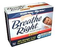 ブリーズライト (Breathe Right) エキストラ 大人サイズ 肌色 44枚入り【海外直送品】