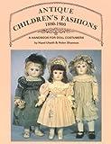 Antique Children's Fashions: 1880-1900 画像