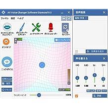 AV Voice Changer Software Diamond Edition v.9.5.8(最新) Win対応 ダウンロード版
