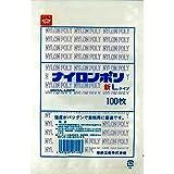ナイロンポリ 新Lタイプ規格袋 No.13 (100枚) 巾200×長さ280㎜