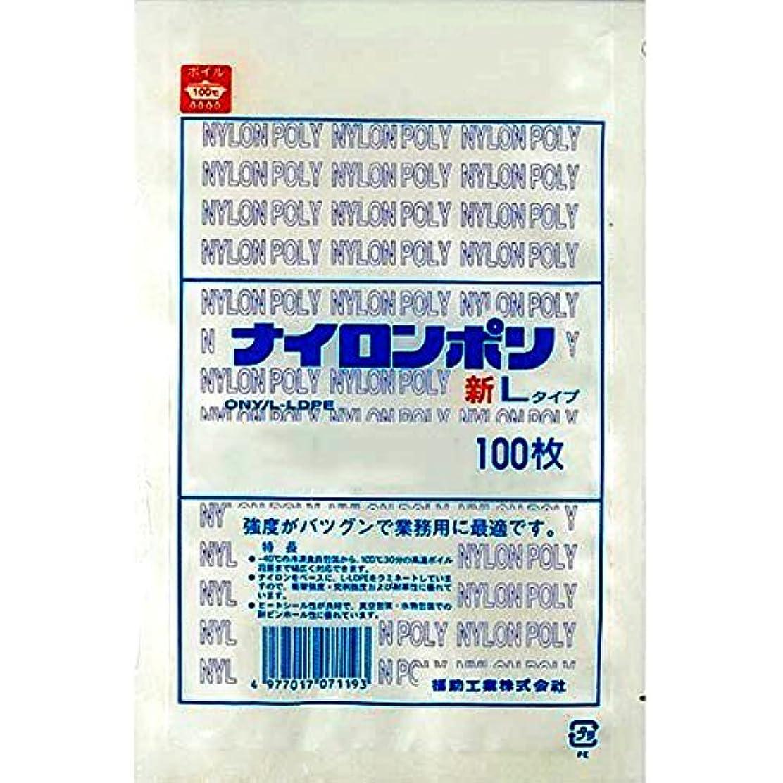 気分検体ナイロンポリ 新Lタイプ規格袋 No.2B (100枚) 巾120×長さ170㎜