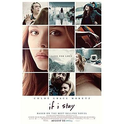 映画 If I Stay イフ・アイ・ステイ 愛が還る場所 クロエ・グレース・モレッツ ポスター 約90x60cm 写真 Chloë Grace Moretz
