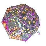 ディズニープリンセス ラプンツェル ビニール傘 55cm 13704 キッズ 子供用 雨対策 雨具 ドーム型 キャラクター 雑貨【即日・翌日発送】