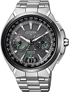 [シチズン]CITIZEN 腕時計 ATTESA アテッサ Eco-Drive SATELLITE-WAVE エコ・ドライブ 40タイムゾーン対応 サテライトウェーブダイレクトフライト針表示式 衛星電波受信 CC1086-50E メンズ