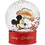 Cath Kidston [キャスキッドソン] x Disney [ディズニー] ミッキーマウス 90周年アニバーサリー スノードーム ヒップ?ヒップ?フーレイ [並行輸入品]