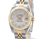 [ロレックス]ROLEX 腕時計 オイスターパーペチュアルデイトジャスト 79173NG Y番台(2002年) 中古[1293399] 付属:付属品なし ホワイトシェル Y番台(2002年)