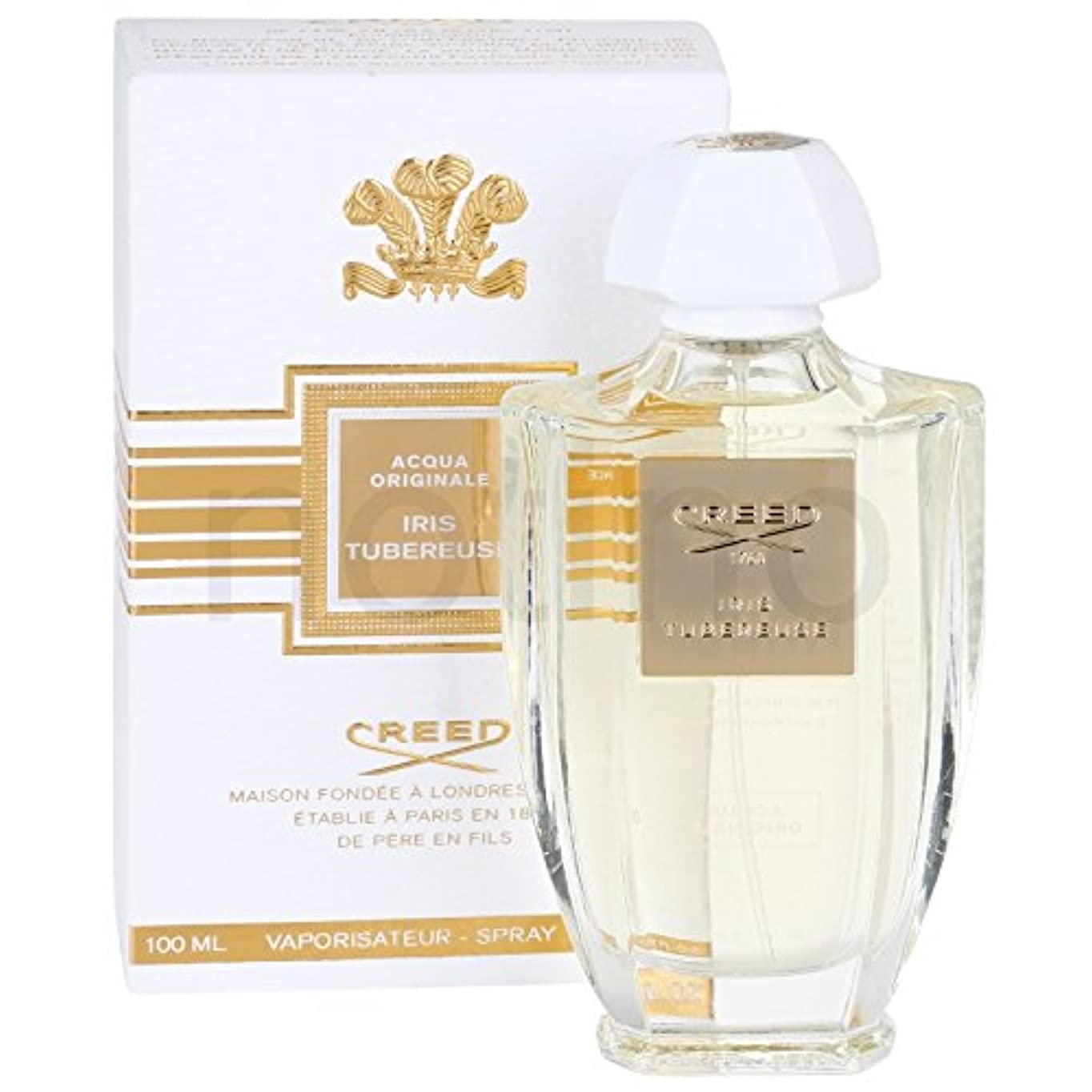 若者乞食ピストンCreed Acqua Originale Iris Tubereuse (クリード アクア オリジナル アイリス チュベローズ) 3.3 oz (100ml) EDP Spray for Women