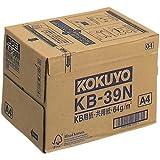 コクヨ コピー用紙 A4 白色度80% 紙厚0.09mm 2500枚(500×5) FSC認証 KB-39N