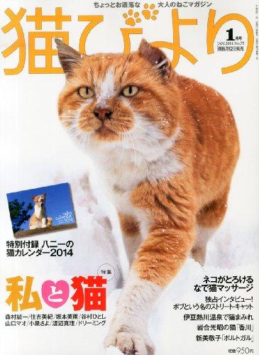 猫びより 2014年 01月号 [雑誌]