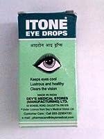 Itone点眼-ハーブアイドロップは、クール光沢と健康- 10ミリリットル目を保持しますItone Eye Drop-herbal Eye Drop- Keeps Eyes Cool, Lustrous and Healthy-10ml