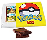 POKEMON BOX WITH CHOCOLATE(チョコレート)! ☀ It's funny gift food will be a great holiday gift idea! 8 chocolate bars! (8 チョコレートバー)