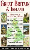 Eyewitness Travel Map: Great Britain & Ireland (DK Eyewitness Travel Guide)