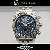 ブライトリング BREITLING クロノマット 44 ブルーインパルス 日本限定400本 AB0110 ブルー文字盤 メンズ 腕時計 【中古】