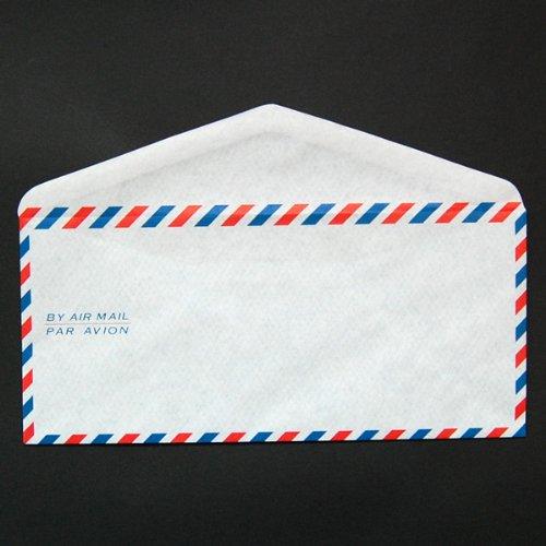 エアメール封筒/エアメール AIR MAIL 洋4封筒/洋4 定形 100枚 【41】