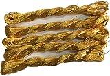 8掛(直径約0.5mm)の金糸-100mx5本1セット!