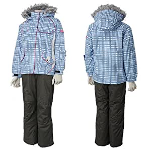 SOUTHLINE サウスライン ガールズ 女の子 スキーウェア SLG-4252 WHITE(ホワイト) 160