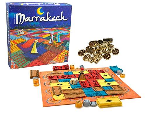 マラケシュ (Marrakech) 予備コイン付属 [並行輸入品] 日本語説明書 ボードゲーム