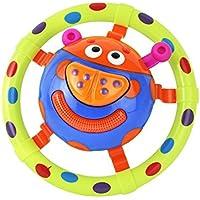 面白いミュージックベル音楽楽器アコーディオンRattleおもちゃLittle Beetle教育Developmentalトイfor up 6ヶ月の赤ちゃんと幼児