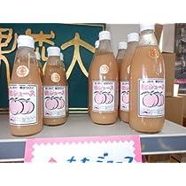 信州小諸大森園の桃ジュース(600ml) (3本1箱)